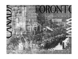 WW1 Canadian  Nostalgic Collage Photographic Print by Ruth Palmer