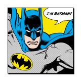 Ich bin Batman, Englisch Kunstdrucke