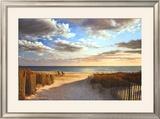Sunset Beach Prints by Daniel Pollera