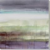 Lluvia morada I Reproducción en lienzo de la lámina por Lanie Loreth