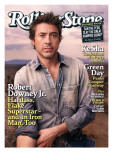 Robert Downey Jr., Rolling Stone no. 1104, May 13, 2010 Photographic Print by Seliger Mark