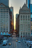Chicago Street Scene Photographic Print by Steve Gadomski