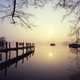 Sunrise Over Derwentwater Photographic Print by Charles Bowman