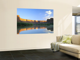 Cliffs at Sunrise Along Green River at Mineral Bottom, Utah, USA Wall Mural by Scott T. Smith