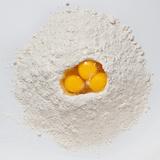 Flour and Eggs Lámina fotográfica por Steve Gadomski