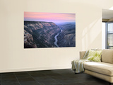 The Green River & Cliffs of Whirlpool Canyon at Dusk, Dinosaur National Monument, Utah, USA Wall Mural by Scott T. Smith