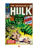 The Incredible Hulk Art
