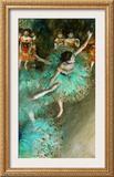 Green Dancer, circa 1880 Framed Giclee Print by Edgar Degas