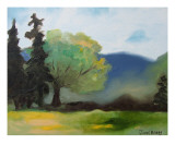 Cascade Foothills II Giclee Print by Janel Bragg