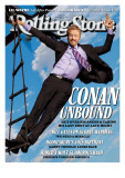 Conan O'Brien, Rolling Stone no. 1117, November 11, 2010 Photographic Print by Trachtenberg Robert