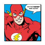 Flash: I'm the Fastest Man Alive Kunstdrucke