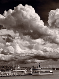 Gathering Storm Over Lake Geneva Photographic Print by Steve Gadomski