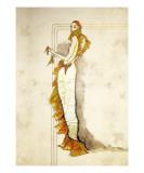 Fishtail Dress Giclee Print by Frederick Watson
