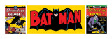 Batman Triptych Poster