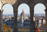 Hungarian Parliament, Budapest Photographic Print by George Oze