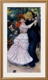 Dance at Bougival Posters by Pierre-Auguste Renoir