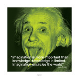 Albert Einstein: Imagination Poster