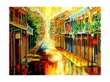 Glorious French Quarter Reproduction procédé giclée par Diane Millsap