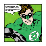 Green Lantern: In Brightest Day, In Blackest Night Plakater