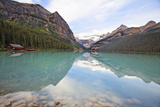 Lake Louise Scenic Vista, Canada Photographic Print by George Oze