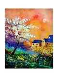 Spring 50170 Giclee Print by  Ledent