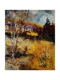 Autumn Landscape 569021 Giclee Print by  Ledent
