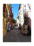 Street in Collioure France Giclee Print by Marilyn Dunlap