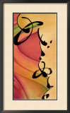 Awaken The Senses II Framed Giclee Print by Sybil Shane