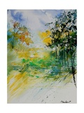 Watercolor 908051 Giclee Print by  Ledent