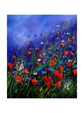Wild Flowers 789070 Giclee Print by  Ledent