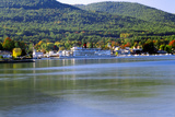 Lake George Autumn, New York Photographic Print by George Oze