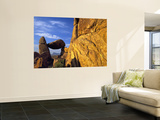 Arch at Sunrise, Grapevine Hills, Big Bend National Park, Texas, USA Wall Mural by Scott T. Smith