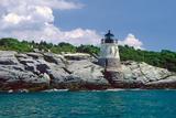 Leuchtturm von Castle Hill, Newport, Rhode Island Fotodruck von George Oze