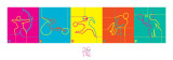 London 2012 Paralympics, Dynamic Pictograms Print