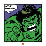 Hulk zerstören! Englisch Poster