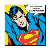 Det er vist en opgave for Supermand, på engelsk Posters