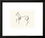 The Horse Print by Pablo Picasso