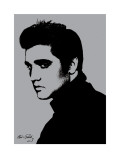 Elvis Presley (Metallic) Posters