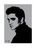 Elvis Presley (Metallic) Posters