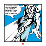 Silver Surfer: My Destiny Art
