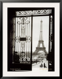 Paris, France, View of the Eiffel Tower Poster by  Gall