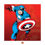 Captain America Prints