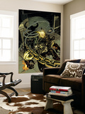 Ghost Rider 19 Cover: Ghost Rider Wall Mural by Mike Deodato Jr.