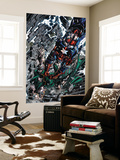 Dark Avengers No.4 Cover: Dr. Doom and Iron Patriot Wall Mural by Mike Deodato Jr.