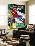 The Amazing Spider-Man No.65 Cover: Spider-Man Charging Wall Mural by John Romita Sr.