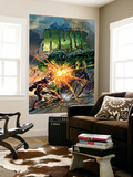 Incredible Hulk 71 Cover: Hulk and Iron Man Wall Mural by Mike Deodato Jr.