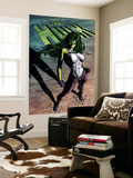 She-Hulk 29 Cover: She-Hulk Wall Mural by Mike Deodato Jr.