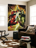 Incredible Hulk 607 Cover: Red She-Hulk and Skaar Wall Mural by John Romita Jr.