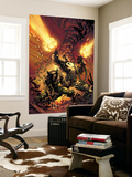 Wolverine Punisher No.1 Cover: Wolverine and Punisher Wall Mural by Mike Deodato Jr.