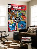 Fantastic Four No.106 Cover: Mr. Fantastic Wall Mural by John Romita Sr.